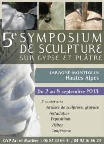 5ème Symposium de sculpture Laragne 2013