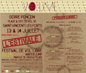 L'Estival Festival de vol libre Serre-Ponçon