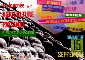 6ème Journée de l'agriculture paysanne 2013