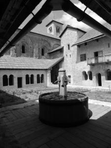 Cloître de l'Abbaye de Boscodon