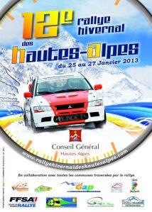 12ème Rallye hivernal des Hautes-Alpes