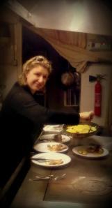Marjorie en cuisine