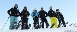 Les Télémarkeurs haut-alpins