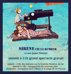 Spectacle Sirène Compagnie La Rumeur