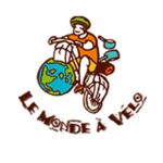 Logo le monde à vélo