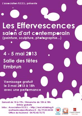 Les Effervescences – Salon d'artcontemporain