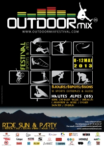 Outdoor Mix Festival Affiche