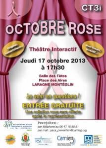 Octobre rose Laragne