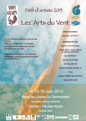 Lez'Arts du Vent – Défi d'artistes 2013