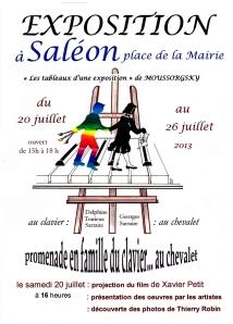 Exposition Moussorgski Saléon