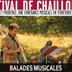 Les balades musicales du Festival deChaillol