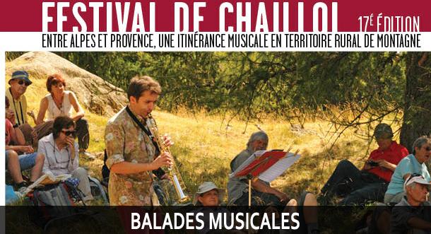 Balades musicales Festival de Chaillol
