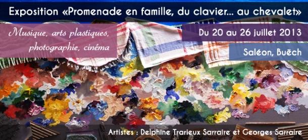 Expo Saléon Promenade en famille