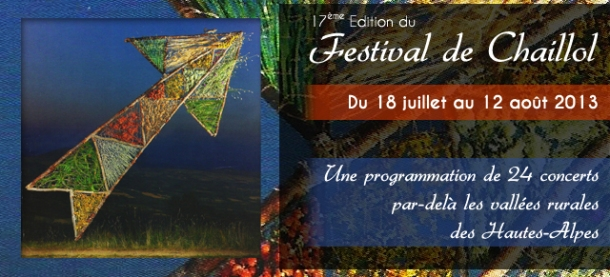 17ème édition du Festival de Chaillol 2013