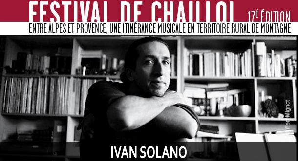 Ivan Solano Festival de Chaillol