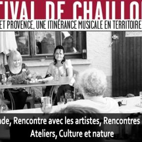 Les Rencontres et Ateliers du Festival deChaillol