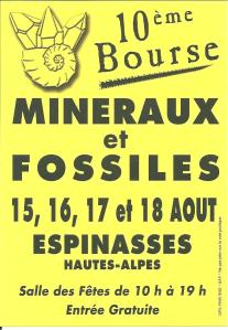 Bourse aux minéraux Espinasses