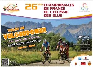 26ème Championnats de France de Cyclisme des Elus Valgaudemar
