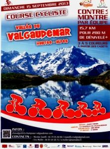Course Cycliste contre-la-montre par équipe Chapelle en Valgaudemar 2013