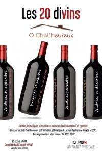 Restaurant O Chal'heureux 20 divins