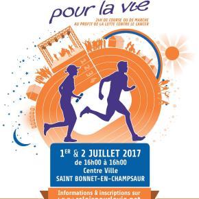 1er et 2 juillet – Relais pour la Vie avec la Ligue contre le cancer – St Bonnet-en-Champsaur